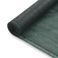 vidaXL Teniski zaslon HDPE 1,2 x 25 m zeleni