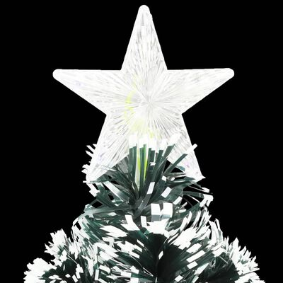 vidaXL Umjetno božićno drvce s postoljem LED 120 cm 135 grana