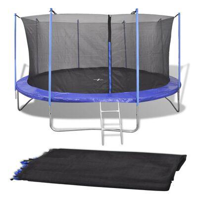 vidaXL Sigurnosna mreža za okrugli trampolin od 4,57 m