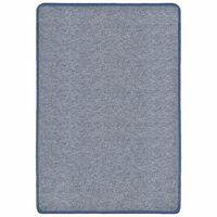 vidaXL Čupavi tepih 160 x 230 cm plavi