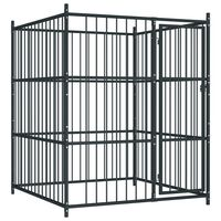 vidaXL Vanjski kavez za pse 150 x 150 x 185 cm