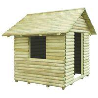 vidaXL Kućica za igru od impregnirane borovine 167 x 150 x 151 cm
