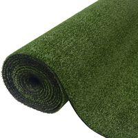 vidaXL Umjetna trava 1,5 x 10 m / 7 - 9 mm zelena