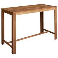 vidaXL Barski stol od masivnog drva akacije 150 x 70 x 105 cm