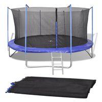 vidaXL Sigurnosna mreža za okrugli trampolin od 3,96 m