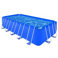 Above Ground Swimming Pool Steel Frame Rectangular 540 x 270 x 122 cm