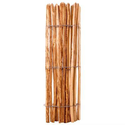 vidaXL Drvena Ograda Drvo Lijeske 120x250 cm