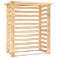 vidaXL Spremište za drva 163 x 103 x 193 cm 19 mm od sušene borovine