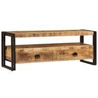 vidaXL TV ormarić od masivnog drva manga 120 x 35 x 45 cm