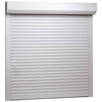 vidaXL Rolete aluminijske 100 x 100 cm bijele