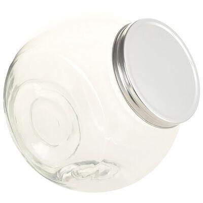 vidaXL Staklenke za slatkiše 6 kom 10,5 x 12 x 17 cm 2200 ml
