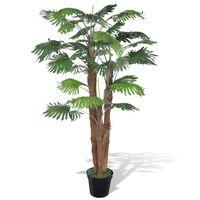 Umjetna palma s lončanicom, 180 cm