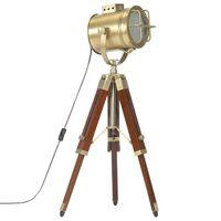 vidaXL Podna svjetiljka s tronošcem od masivnog drva manga 69 cm