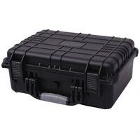 VidaXL Zaštitni kovčeg za opremu  40.6x33x17.4 cm Crni