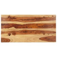 vidaXL Stolna ploča od masivnog drva šišama 25 - 27 mm 60 x 100 cm