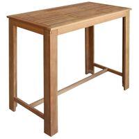 vidaXL Barski stol od masivnog drva akacije 120 x 60 x 105 cm
