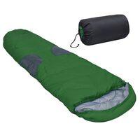 vidaXL Vreća za spavanje zelena -5 ℃ 2000 g