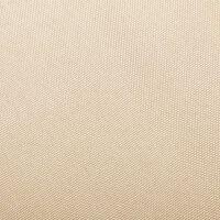 vidaXL Stolica za ljuljanje od tkanine krem