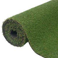 vidaXL Umjetna trava 1 x 15 m / 20 mm zelena