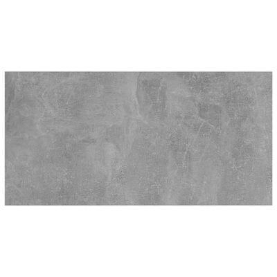 vidaXL Police za knjige 4 kom siva boja betona 40x20x1,5 cm od iverice