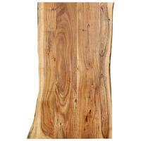 vidaXL Stolna ploča od bagremovog drva 100 x 60 x 2,5 cm