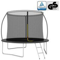 vidaXL Set trampolina okrugli 305 x 76 cm 150 kg