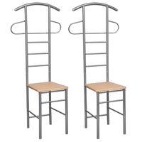 Set od dvije stolice s vješalicom