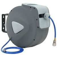 """vidaXL Automatski bubanj za zračno crijevo 1/4"""" 30 m"""