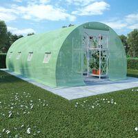 vidaXL Staklenik 18 m² 600 x 300 x 200 cm