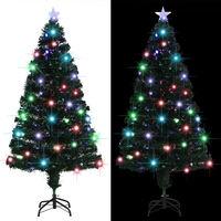vidaXL Umjetno božićno drvce sa stalkom LED 150 cm 170 grančica