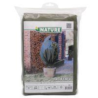 Nature zimski pokrov od flisa 70 g/m² zeleni 1,5 x 2 m