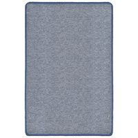 vidaXL Čupavi tepih 120x180 cm plavi
